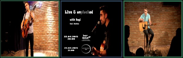 Bogi – Live and unplucked – announcement